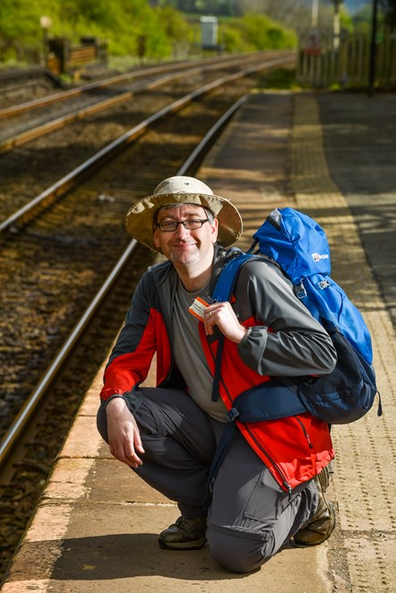 Walks around Britain with Northern 2: Andrew White, writer and presenter of TV series Walks Around Britain, who will be developing a series walks specially chosen to be easily accessible from Northern's stations.