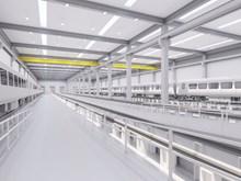 Siemens plans new rail factory in Goole Interior artist impression-2