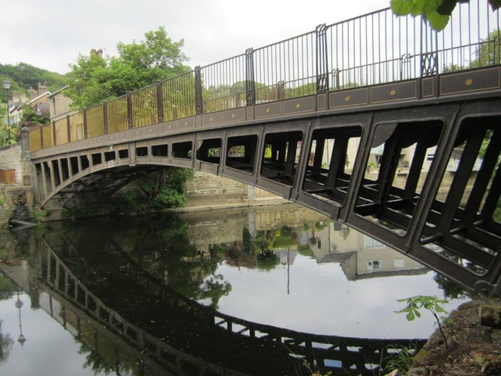 Historic Newlay Bridge summer works set to start: upstreamviewonbridge.jpg