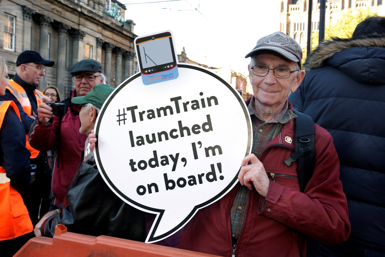 UK's first tram train debuts in South Yorkshire: UK's first tram train debuts in South Yorkshire