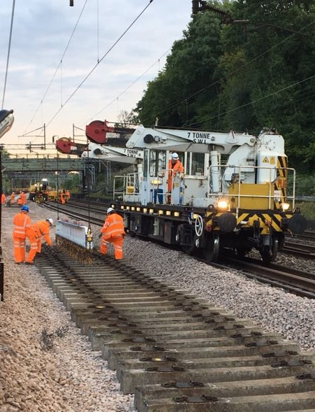 Track work August bank holiday 2017-2