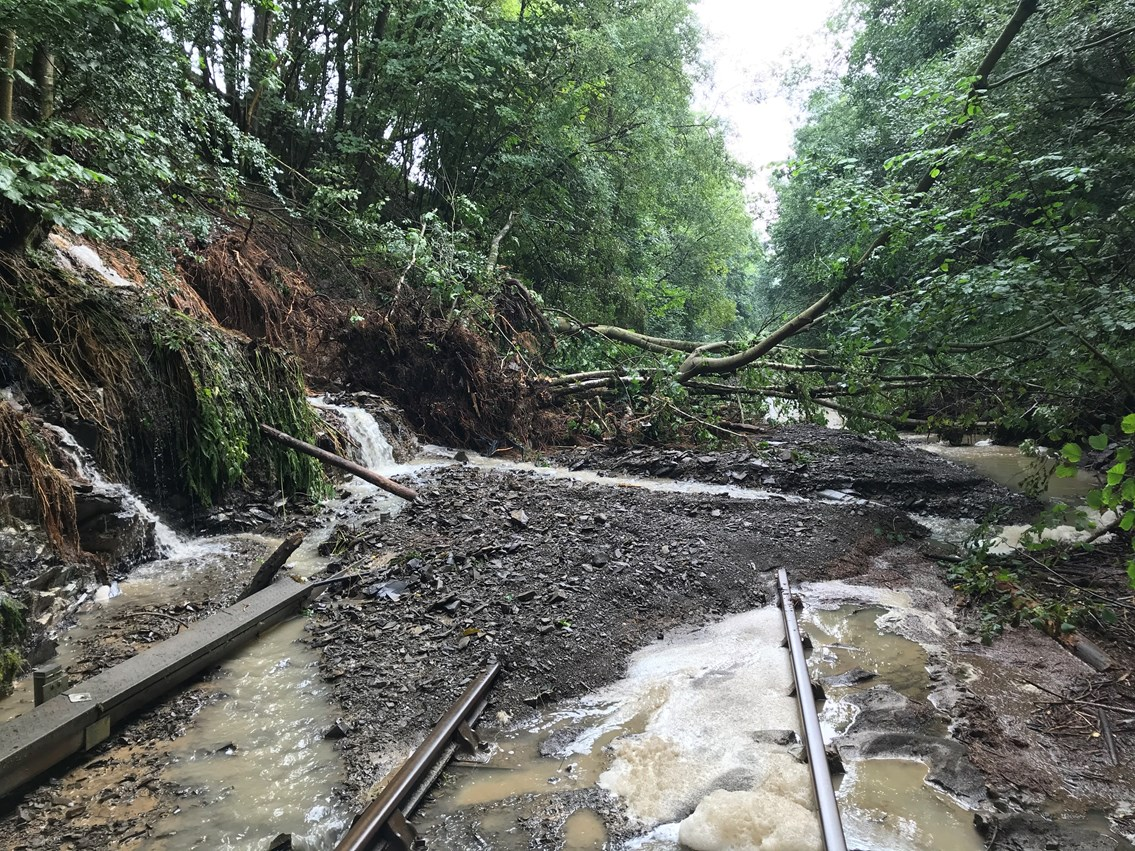 Heart of Wales line to partially reopen in November as repairs following storm damage and freight derailment continue: The Heart of Wales line is closed after heavy rainfall