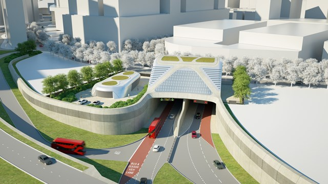 TfL Image - Greenwich Portal Overview