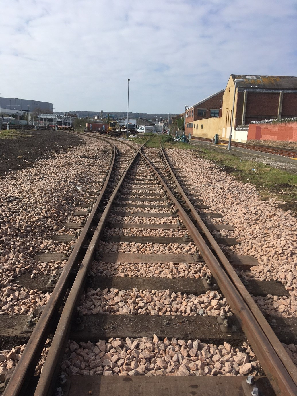 Siding with sustainability: Eastbourne siding after