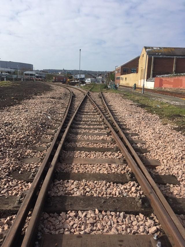 Eastbourne siding after