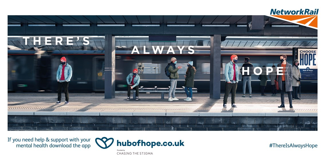'There is always hope' campaign launched as new research shows huge rise in mental health issues across Britain as a result of the pandemic: There's always hope