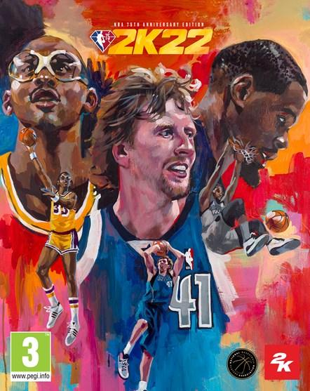 NBA 75th Anniversary Edition Cover