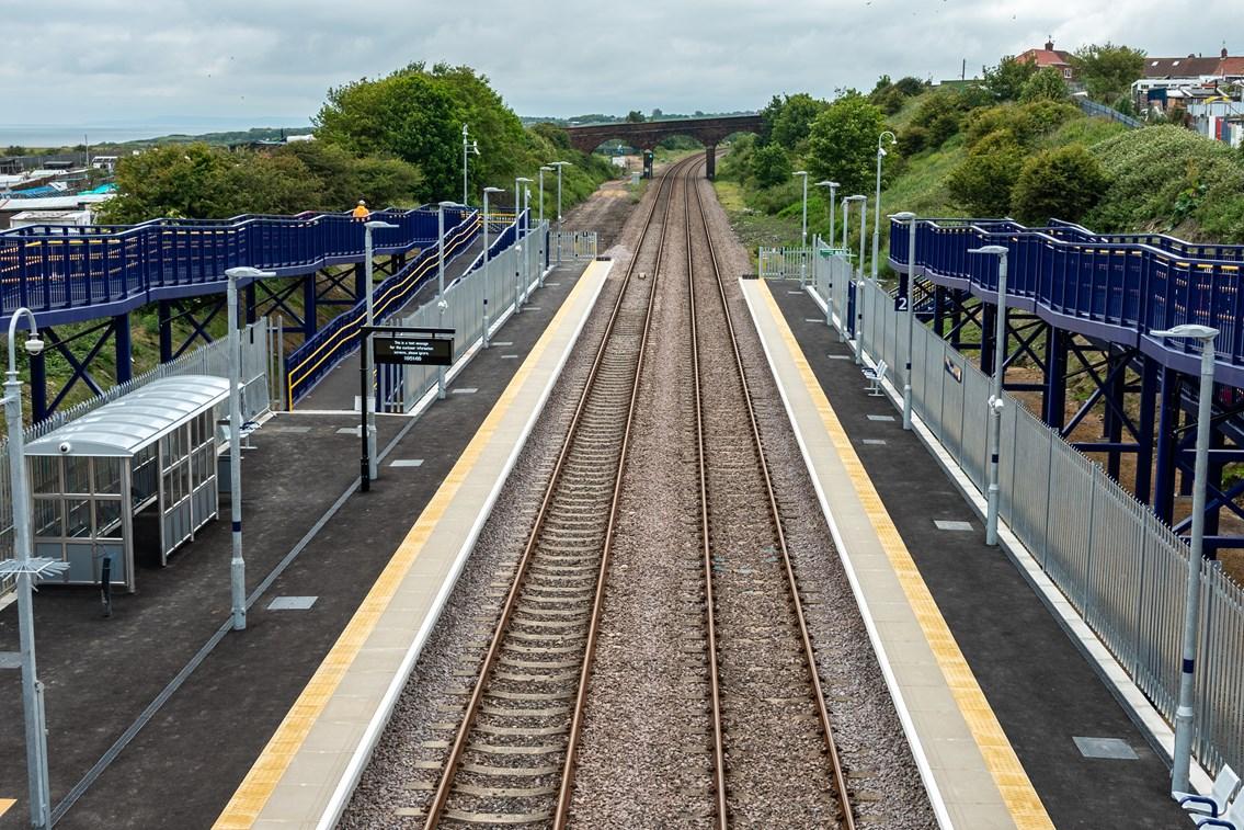 Horden station enters service: Horden station enters service
