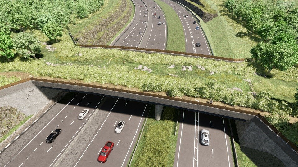 A417 Gloucestershire Way crossing