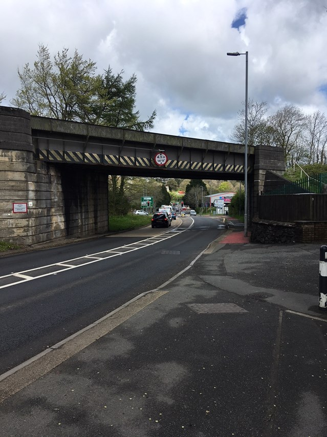 Merlins Bridge railway bridges to receive £4.25m upgrade in 2019: Milford Road Railway Bridge