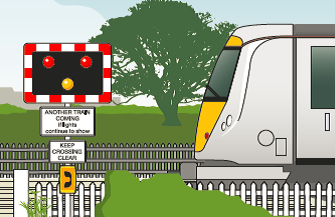 New safety measures for Wormleighton level crossing: level crossing-35
