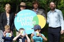 Halfway to Living Wage target