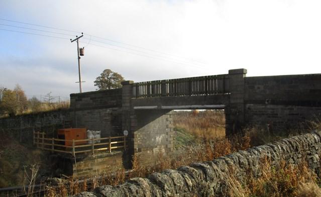 Niddry Castle is bridge to Edinburgh Glasgow electrification: Niddry bridge
