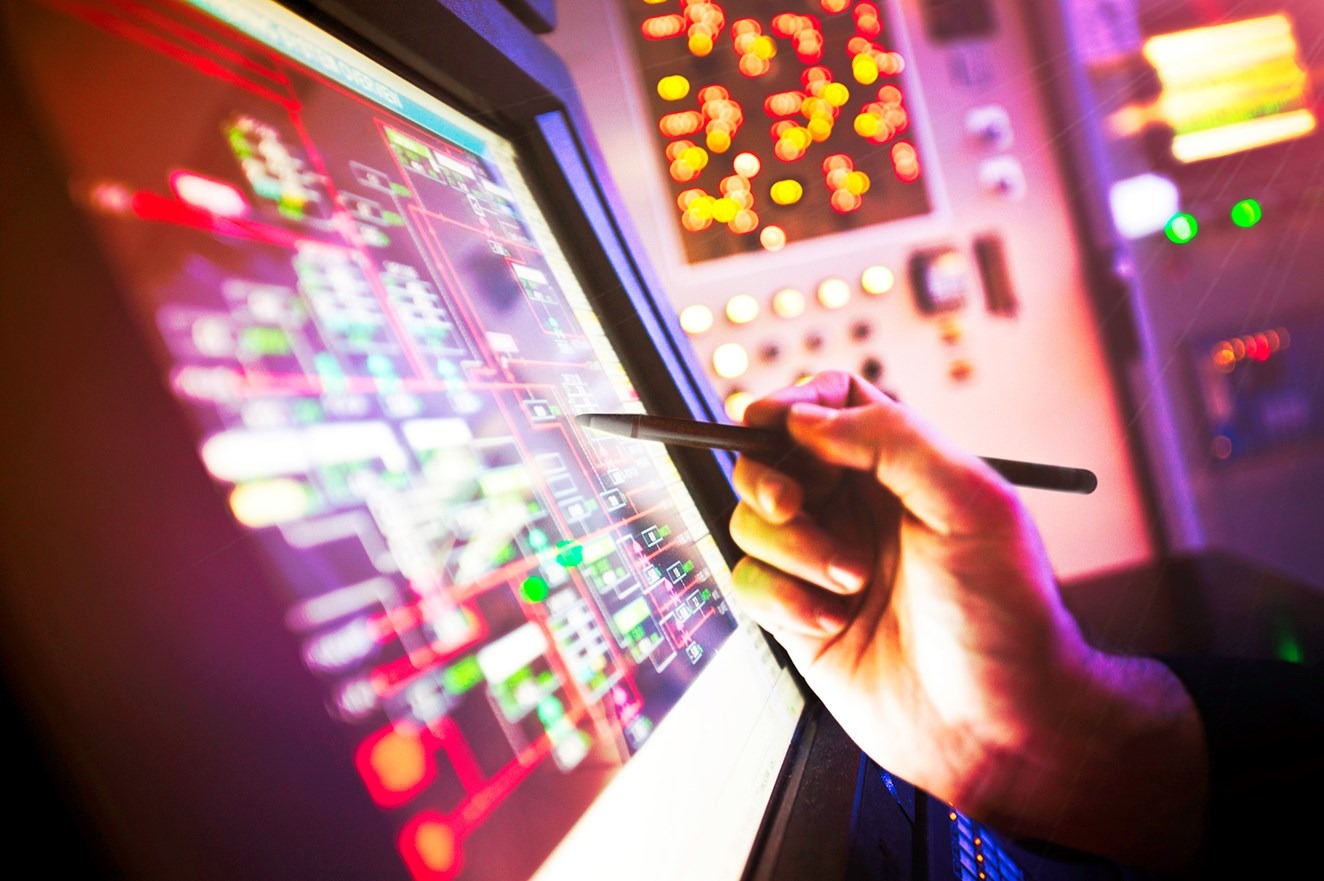 Industry first for Network Rail IP signalling team: Touch Pad