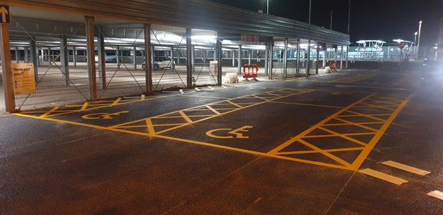 Network Rail delivers car park improvements to 14 stations across Surrey, Wilts, Hants & Devon: Farnborough station car park