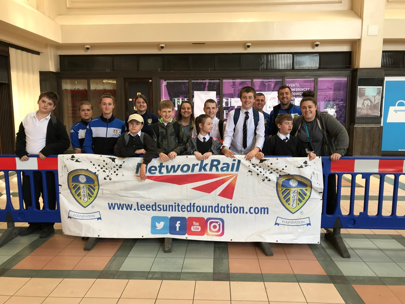 Leeds Station Safety Week 2018 launched: Leeds Station Safety week 2018 launched