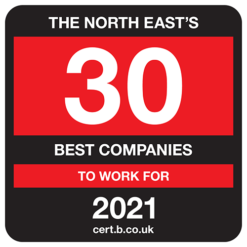 North East's 30 Best Companies to Work For 2021
