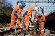 Improvement work is taking place this bank holiday weekend so check before you travel