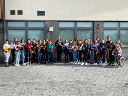 Success for Moray Music Centre's senior string orchestra: MMC Senior Strings Trophy