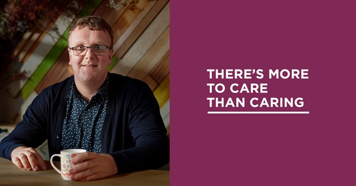 New campaign shows 'There's More to Care Than Caring': There's more to care than caring image