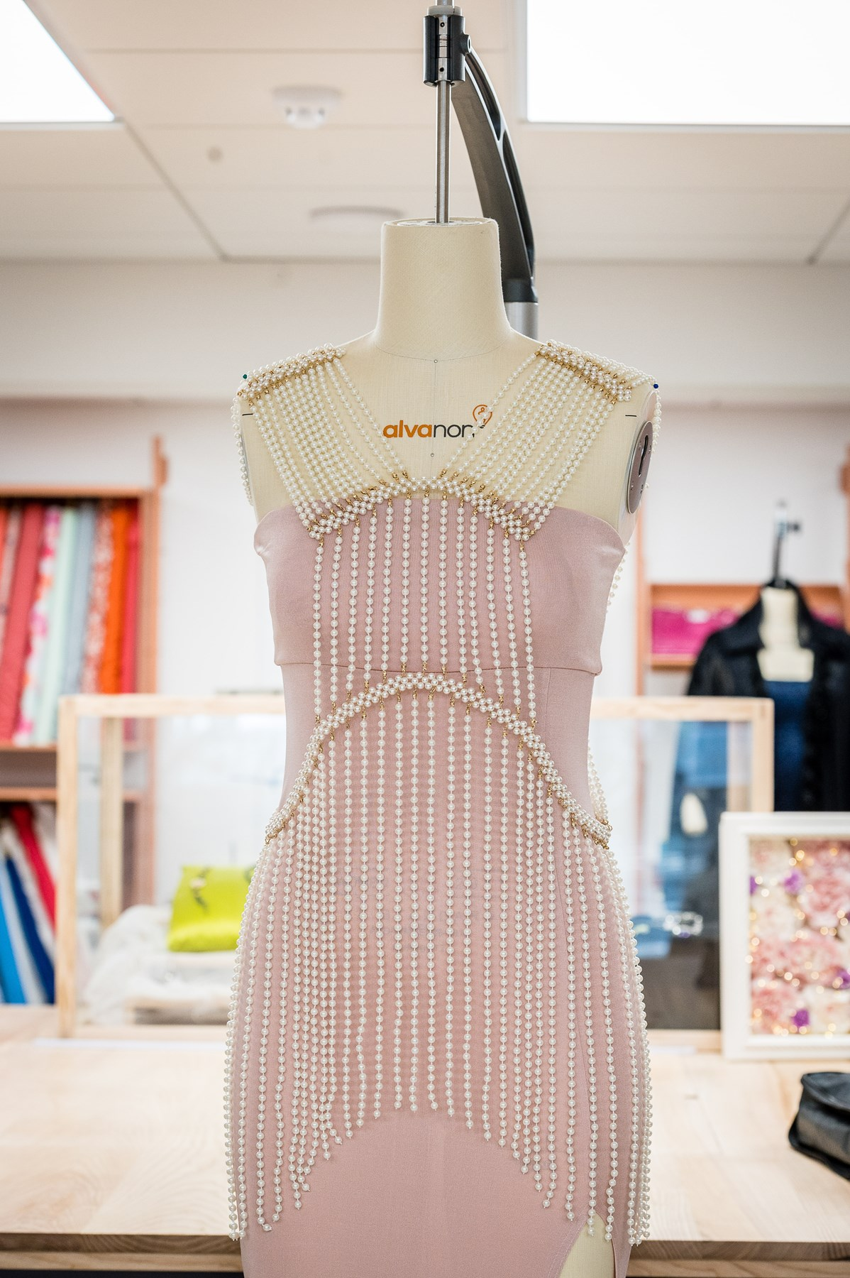 A dress by designer-maker Tricia Blake of Diva Choice at FC Designer Collective