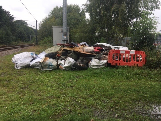Network Rail works to clear rubbish in and around Bradford Forster Square station: Network Rail works to clear rubbish in and around Bradford Forster Square station