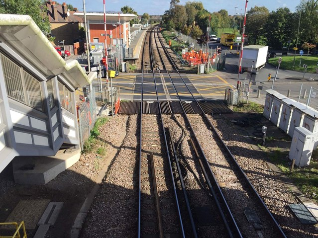 Diversions for motorists and changes to trains in parts of south west London as £45m railway upgrade continues: VCI2B
