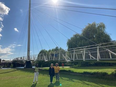 Cllrs with Christchurch Bridge