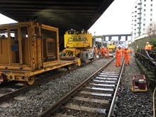 Work will take place on the eastern approach to Cardiff Central Station between August and October