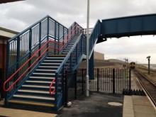 Sellafield new footbridge 2