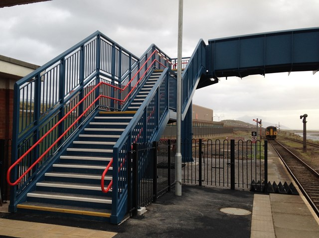 Sellafield new footbridge 2