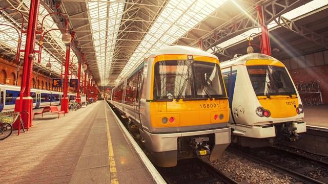 Chiltern passengers advised of weekend railway upgrades: Chiltern trains at Marylebone station stockshot - Credit Chiltern Railways