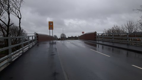 Partial closure of Northamptonshire road bridge as Network Rail completes vital safety work: Partial closure of Northamptonshire road bridge as Network Rail completes vital safety work