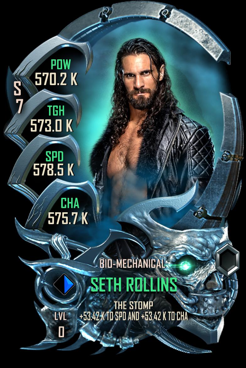 WWESC S7 Seth Rollins Bio-Mechanical
