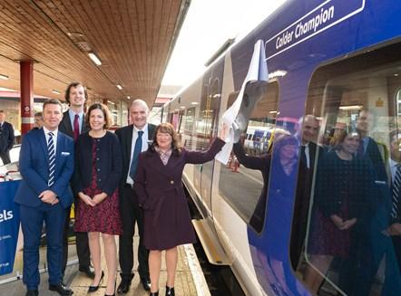 Calder Valley new train launch