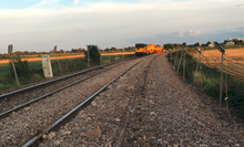 Engineers start work to replace broken track