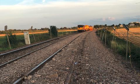 Engineers start work to replace broken track