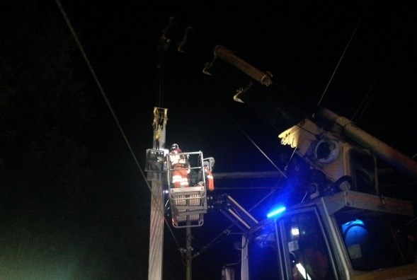 Overhead wire upgrade to deliver major reliability improvements for Southend rail passengers: Southend Victoria branch line overnight improvements