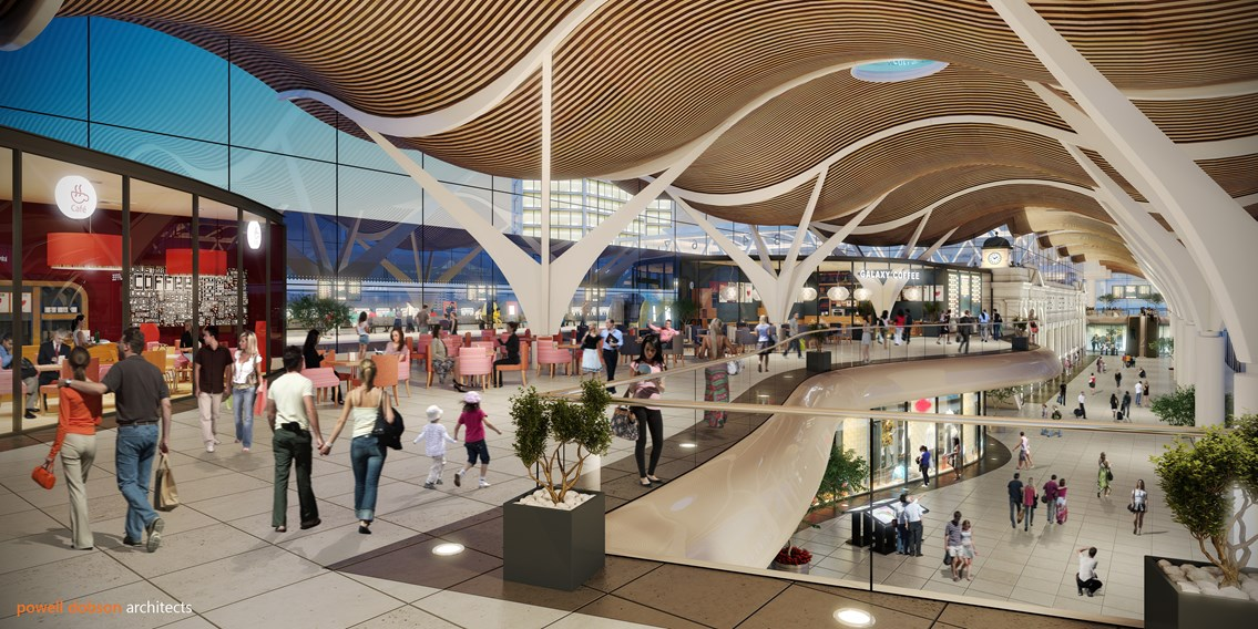 Cardiff Central plans for redevelopment: Network Rail is exploring options to deliver a major redevelopment of the station during its next five-year funding period, which starts in 2019.