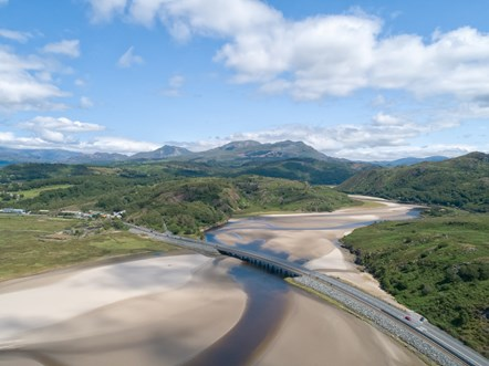 Wales' Cambrian Line named one of the world's most scenic railways: Pont Briwet