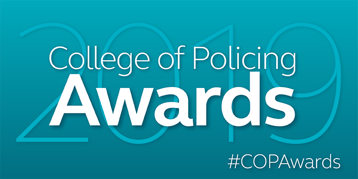 Publicising your Force Winner of the College of Policing Awards 2019: CoPAwards 2019 carousel 700x350px