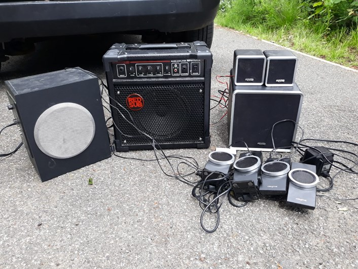 Sound equipment removed from three properties and home closed following operation to tackle noise nuisance: Noise nuisance