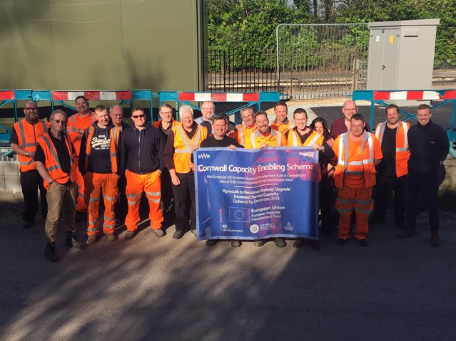 Successful upgrade signals bright future for rail travel in the south west: Phase 1 of Cornwall Capacity enabling scheme was delivered over the weekend