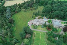 Picture from drone at Marine Wildlife Crime event at Battleby - snh-dji 0039