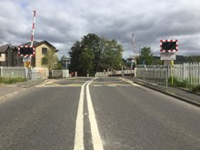 Cornton level crossing