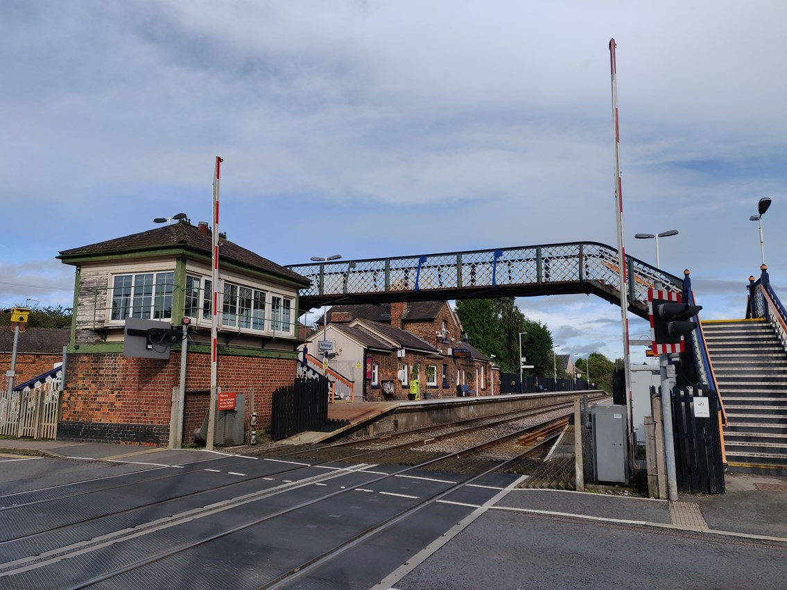 Network Rail begins improvement work on Narborough station footbridge on 21 September