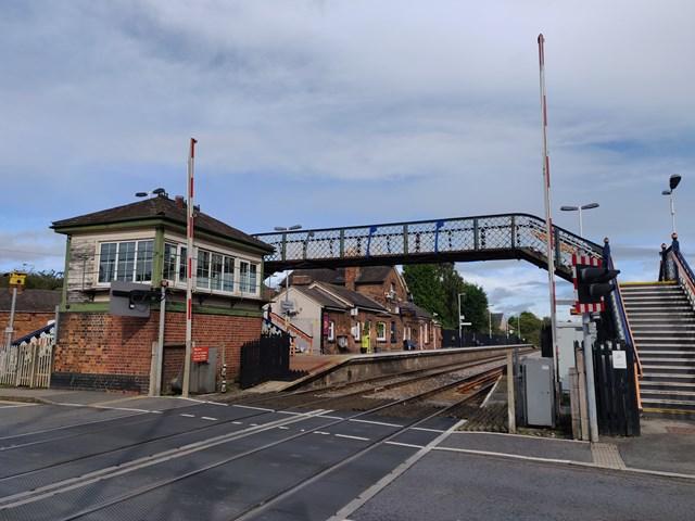 Network Rail begins improvement work on Narborough station footbridge next week: Network Rail begins improvement work on Narborough station footbridge next week