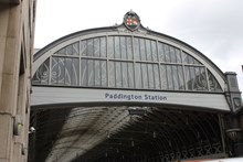 Paddington Station entrance
