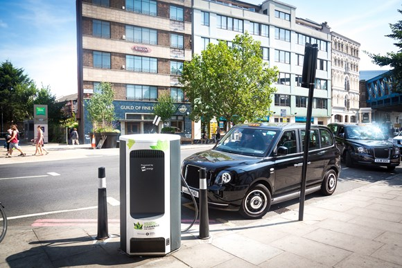 TfL Image - Electric Taxi