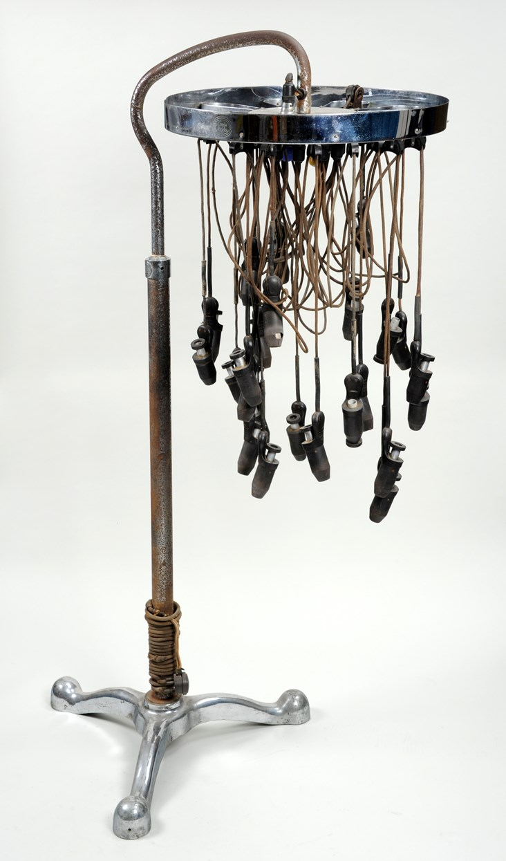 Leeds Museums and Galleries object of the week- vintage 1930s perming machine: permmachine.jpg